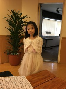 今日は娘が小金井でピティナステップでした。